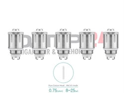 Eleaf GS Air 2 coil Pure coton head 0,75 ohm